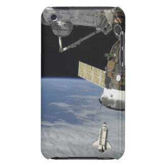 Space shuttle Endeavour, a Soyuz spacecraft iPod Touch Cases