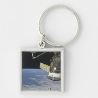 Space shuttle Endeavour, a Soyuz spacecraft Key Ring