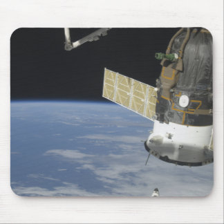 Space shuttle Endeavour, a Soyuz spacecraft Mouse Mat