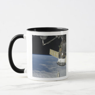 Space shuttle Endeavour, a Soyuz spacecraft Mug