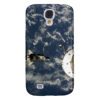 Space Shuttle Endeavour and a Soyuz spacecraft Galaxy S4 Case