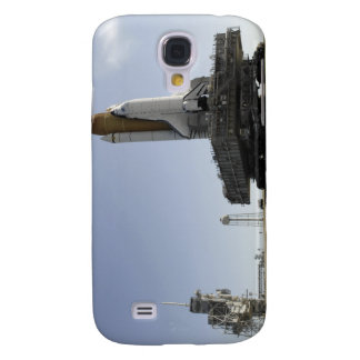 Space Shuttle Endeavour approaches the launch p Galaxy S4 Case