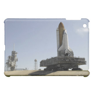 Space Shuttle Endeavour approaches the launch p iPad Mini Cover