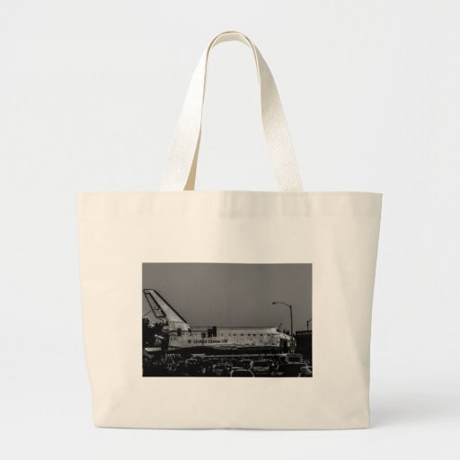 Space Shuttle Endeavour at The Forum Canvas Bags