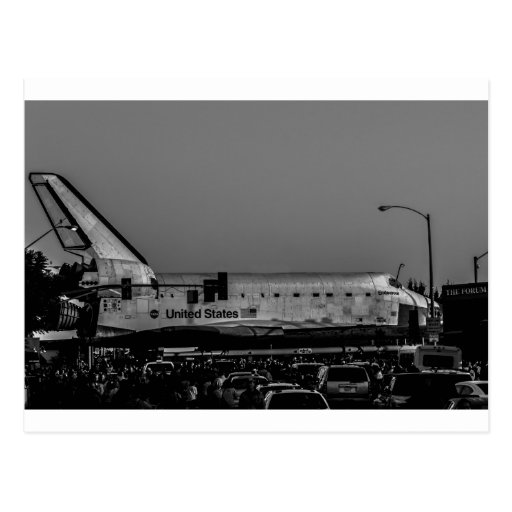 Space Shuttle Endeavour at The Forum Post Cards