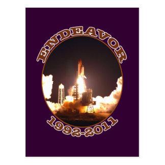 Space Shuttle Endeavour Final Launch Postcards