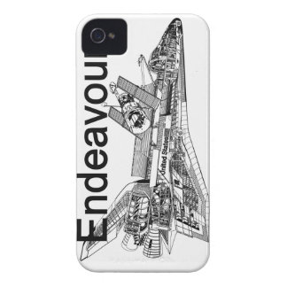 Space Shuttle Endeavour iPhone 4 Cases