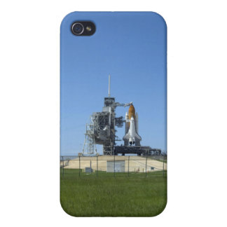 Space shuttle Endeavour is framed by a windsock Cases For iPhone 4