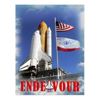Space Shuttle Endeavour, Kennedy Space Center Postcard