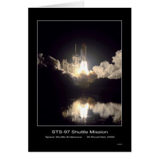 Space Shuttle Endeavour Lift-off - November 30, 20 Greeting Card