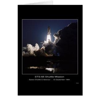 Space Shuttle Endeavour Lift-off – September 30, 1 Card
