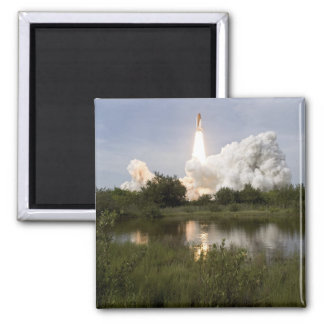 Space Shuttle Endeavour lifts off 7 Square Magnet