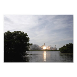 Space Shuttle Endeavour lifts off Photo Print