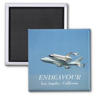 Space Shuttle Endeavour Magnet! Square Magnet