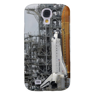 Space Shuttle Endeavour on the launch pad 2 Galaxy S4 Case