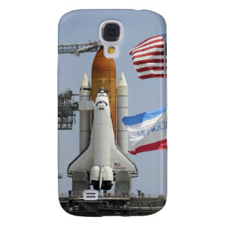 Space Shuttle Endeavour on the launch pad 3 Galaxy S4 Case
