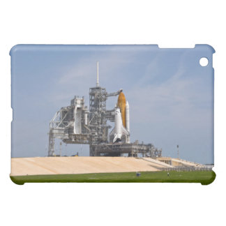 Space Shuttle Endeavour on the launch pad 4 Cover For The iPad Mini
