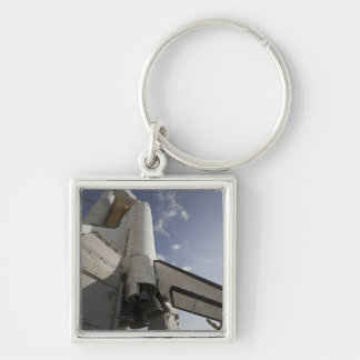 Space Shuttle Endeavour on the launch pad 6 Key Ring