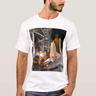 Space Shuttle Endeavour on the launch pad T-Shirt