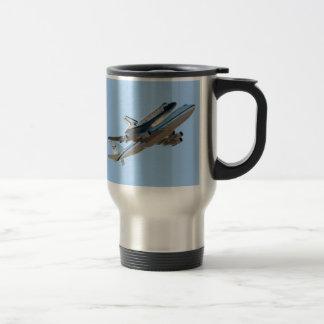 Space shuttle Endeavour Stainless Steel Travel Mug