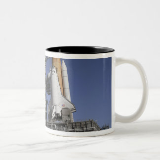 Space shuttle Endeavour Two-Tone Coffee Mug