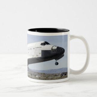 Space Shuttle Endeavour's main landing gear Two-Tone Coffee Mug