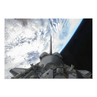 Space Shuttle Endeavour's payload bay 2 Photographic Print