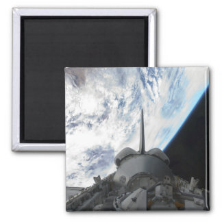 Space Shuttle Endeavour's payload bay 2 Square Magnet