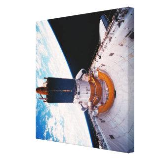 Space Shuttle in Orbit 2 Gallery Wrap Canvas