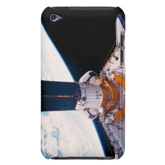 Space Shuttle in Orbit 2 Barely There iPod Cases