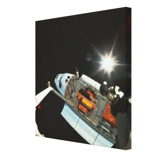 Space Shuttle in Space 2 Canvas Prints