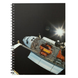 Space Shuttle in Space Notebook
