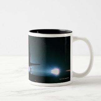 Space Shuttle Landing 2 Two-Tone Coffee Mug
