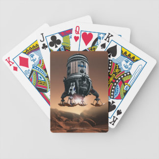 Space Shuttle Landing 3 Bicycle Playing Cards