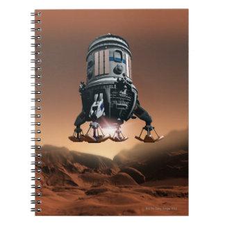 Space Shuttle Landing 3 Notebook