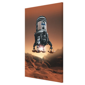 Space Shuttle Landing 3 Stretched Canvas Prints