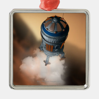 Space Shuttle Landing 4 Christmas Ornament