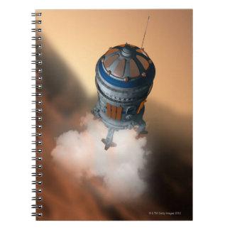 Space Shuttle Landing 4 Notebooks