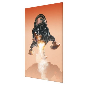 Space Shuttle Landing 5 Gallery Wrap Canvas