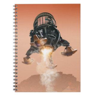 Space Shuttle Landing 5 Spiral Notebook
