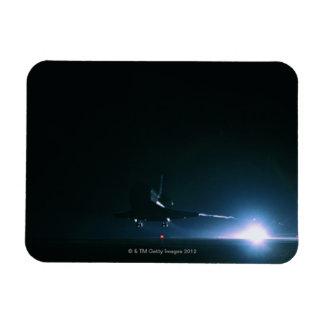 Space Shuttle Landing Rectangular Photo Magnet