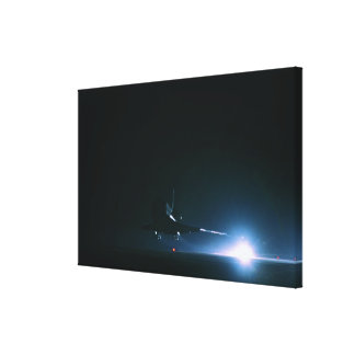 Space Shuttle Landing Stretched Canvas Prints