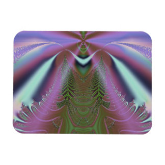 Space Shuttle Launch Abstract Rectangular Photo Magnet