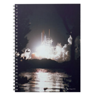 Space Shuttle Launch Note Book