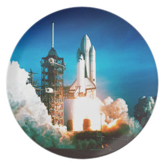 SPACE SHUTTLE LAUNCH PLATE