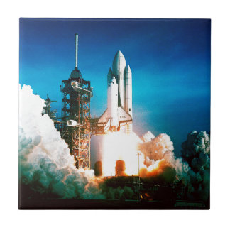 SPACE SHUTTLE LAUNCH TILE