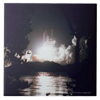 Space Shuttle Launch Tile