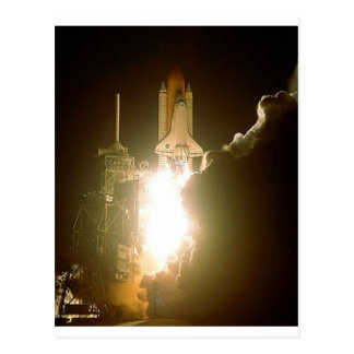 SPACE SHUTTLE LIFT-OFF POSTCARD