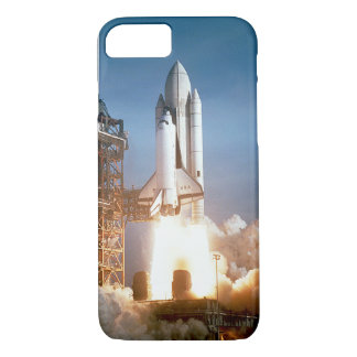 Space Shuttle Lifts Off iPhone 8/7 Case