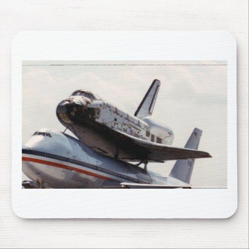 space shuttle mousepads